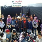 Kinder in Abrahams Zelt in Al Ubiedyeh